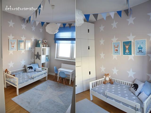 pokój dziecięcy, pokój dziecka, pokój rodzeństwa, pokój braci, ikea stuva, styl skandynawski, kidsroom, boysroom
