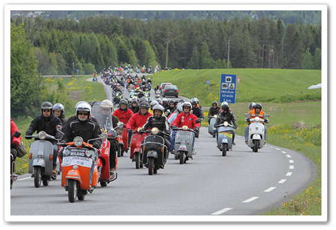 Foto Vespa World Days 2015