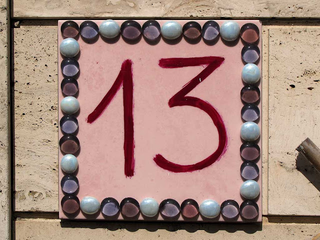 Number thirteen, via Gamerra, Livorno