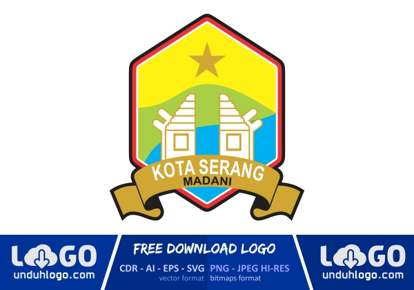 Logo Kota Serang Download Vector Cdr Ai Png