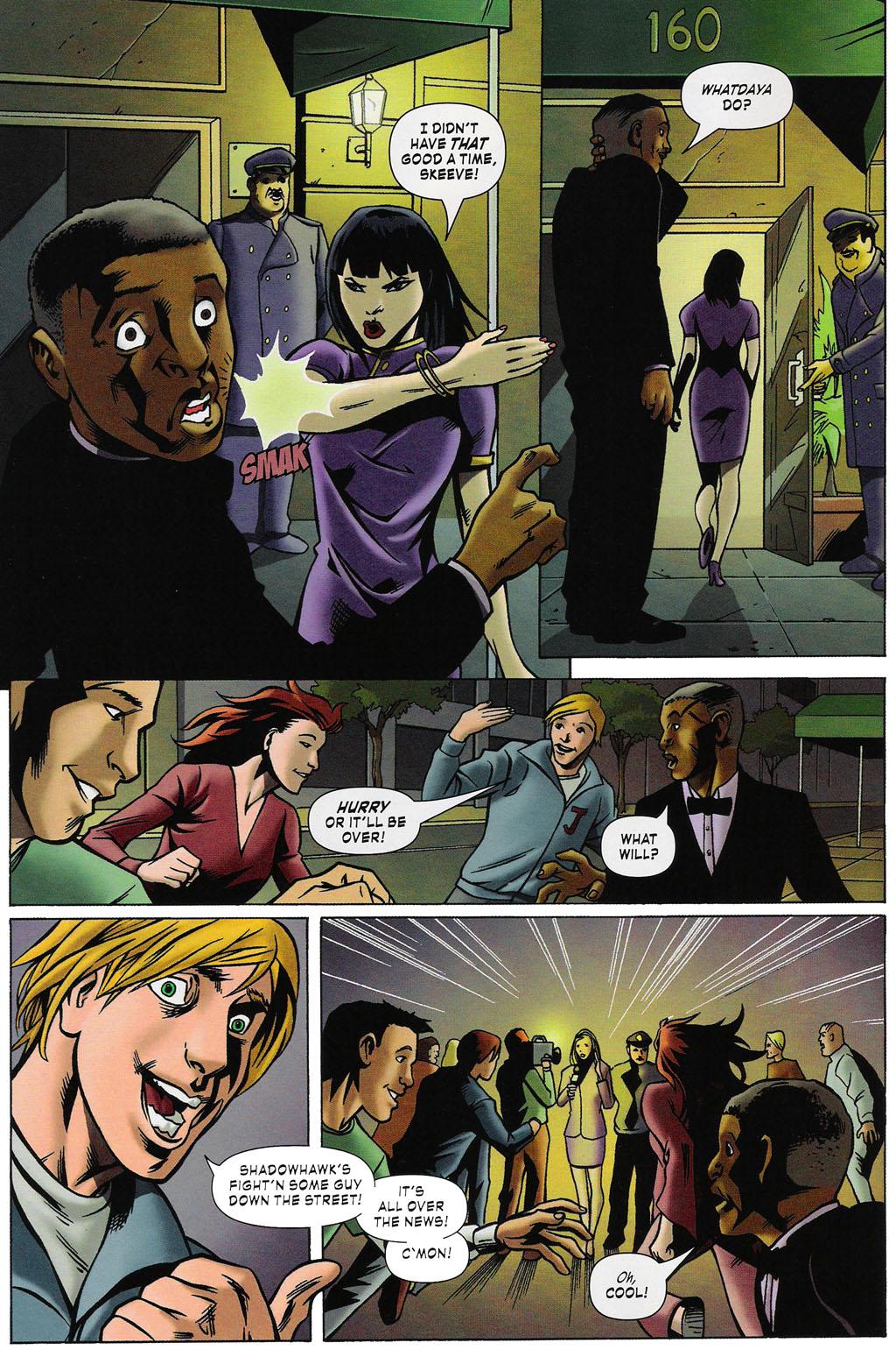 Read online ShadowHawk (2005) comic -  Issue #4 - 10