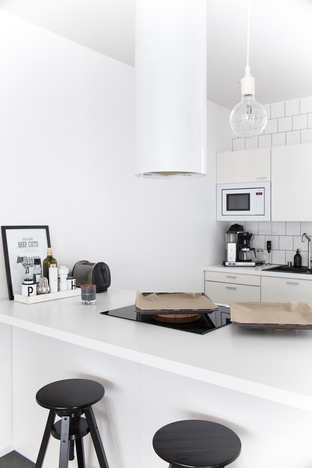 elämää keittiössä, valkoinen keittiö
