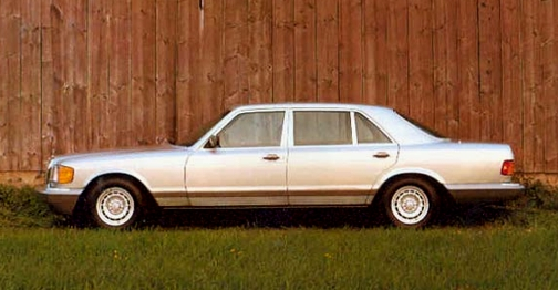 Fellowship of Friends cult leader Robert Earl Burton's 1981 Mercedes-Benz 380SEL luxury car
