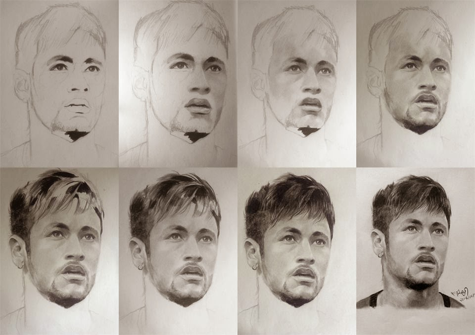 Work in steps  Graphite PENCILS