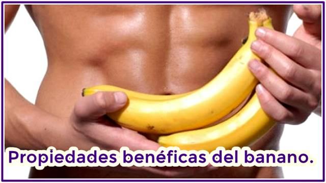 Propiedades beneficiosas de comer banano todos los días