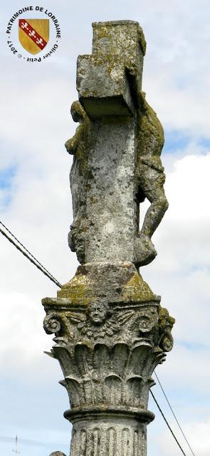 VITREY (54) - Croix-calvaire de Messipierre (1734)