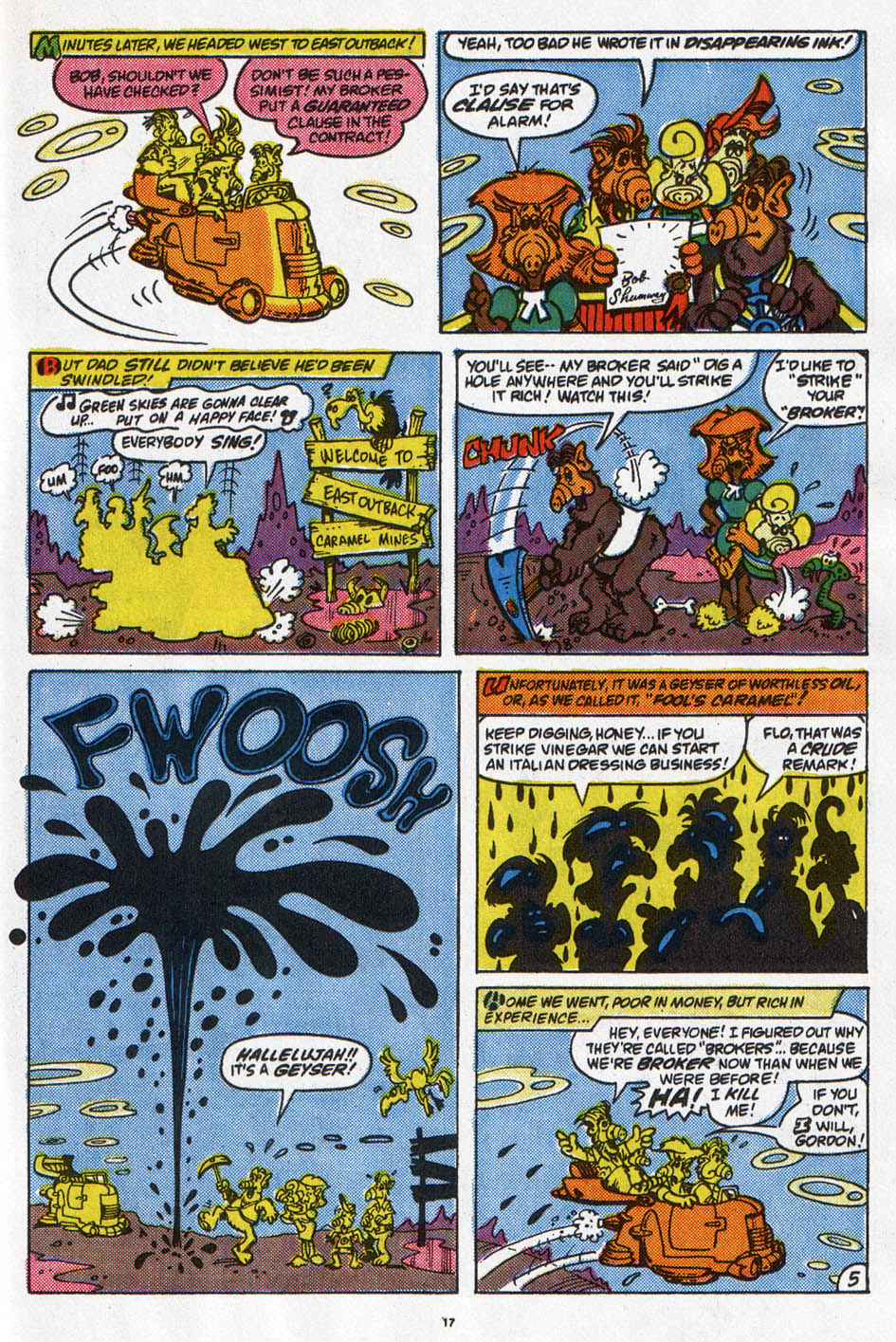 Read online ALF comic -  Issue #6 - 14