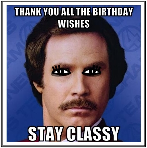 Funny Birthday Thank You Meme Quotes Happy Birthday Wishes