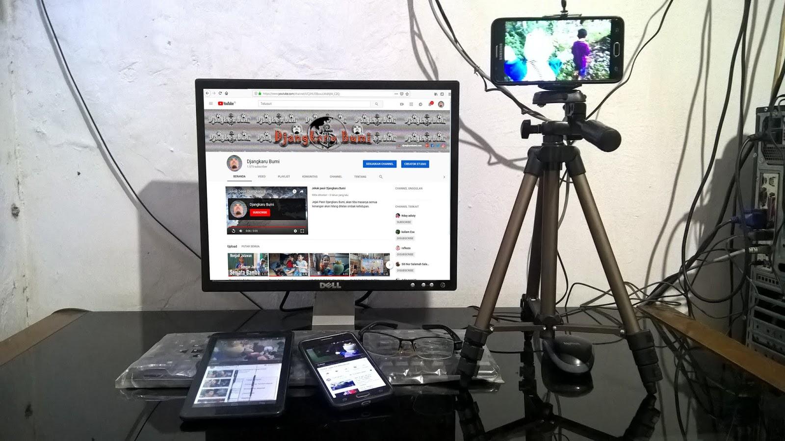 Kesalahan dalam Mengelola channel Youtube