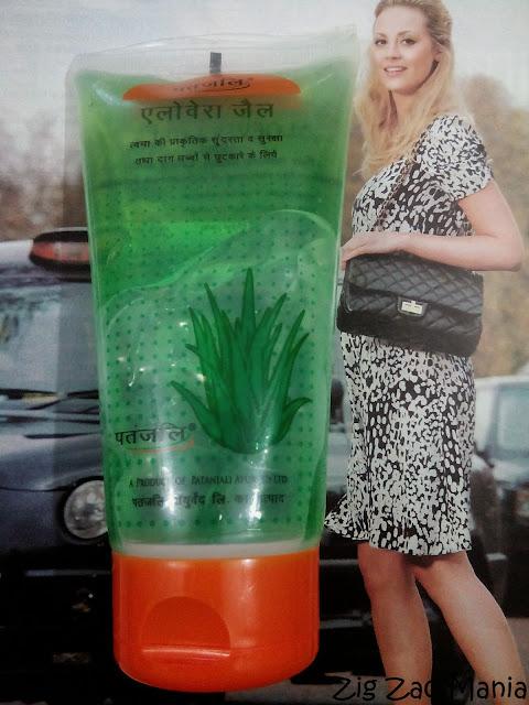 Patanjali Aloe Vera Gel: How to use