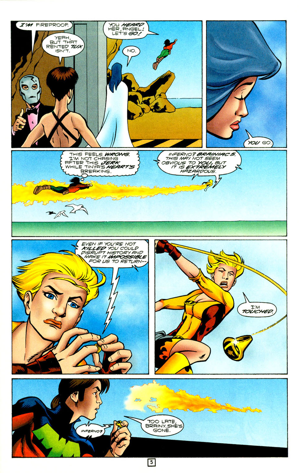 Legion of Super-Heroes (1989) 96 Page 5