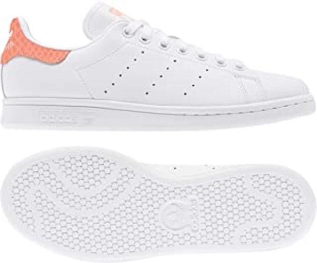 B0813WKLL1 - adidas Stan Smith W, Basket Femme