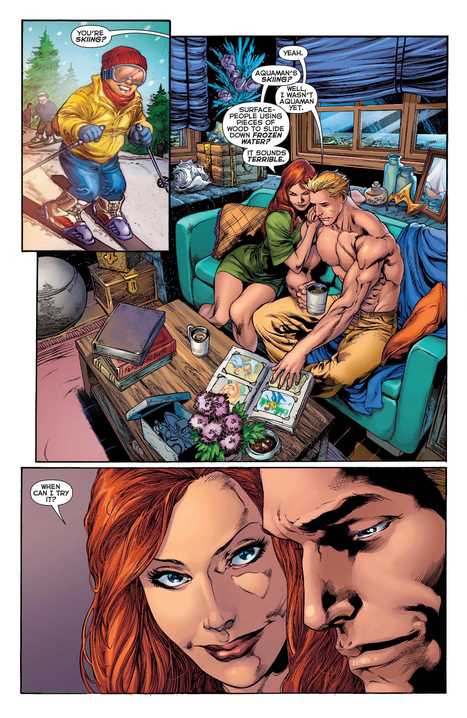 Read online Aquaman (2011) comic -  Issue #2 - 7