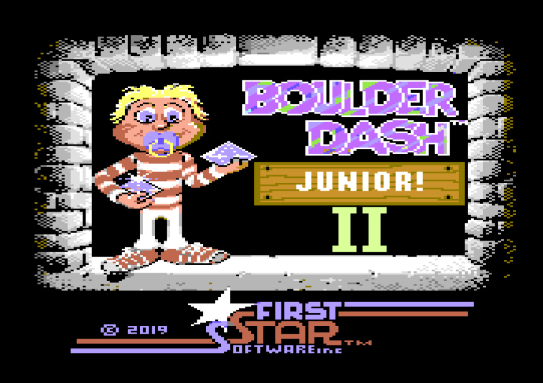 Indie Retro News: Boulder Dash Junior II The Final Dig - An
