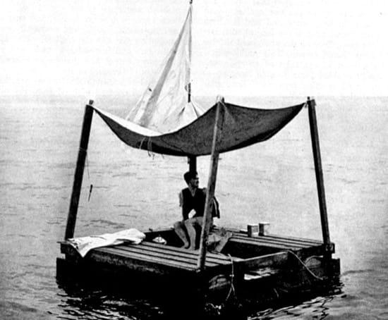 Poom Lim, el náufrago que aguantó 5 meses en una balsa de madera