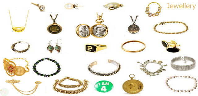 jewellery names, name of Jewelleries, jewelries