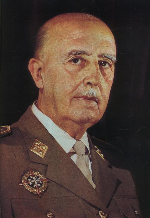 Historisk person: Francisco Franco