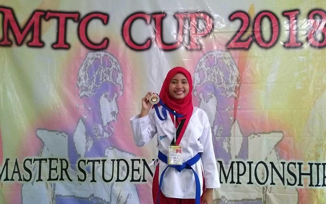 Emas Pertama Taek Wondo Championship