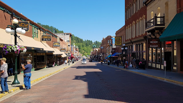 Deadwood's main street...