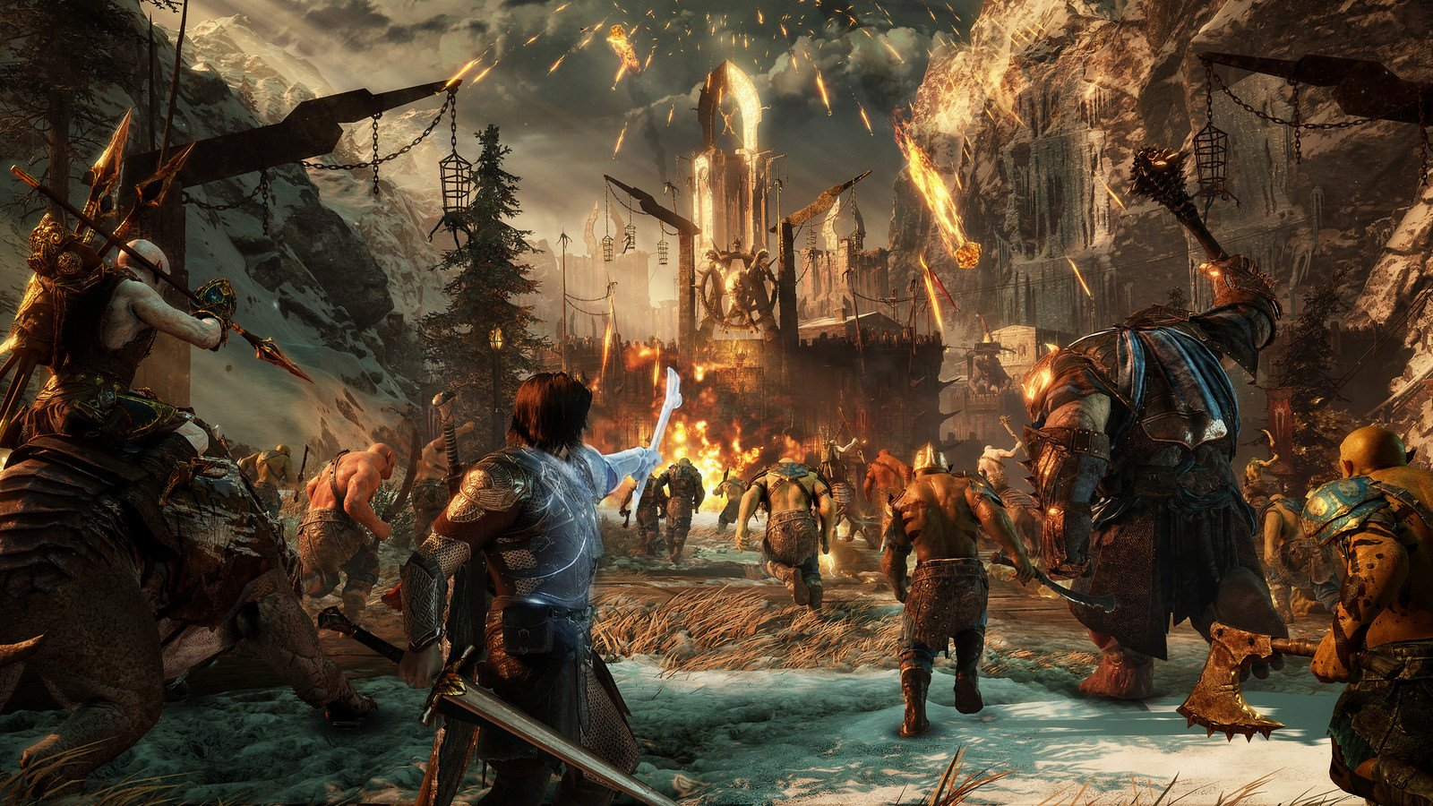 Middle-Earth: Shadow of War Teaser Trailer Gives Us A Feel Of The New Nemesis System.