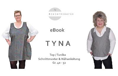 Schnittmuster und Nähanleitung TYNA von Boerlinerin