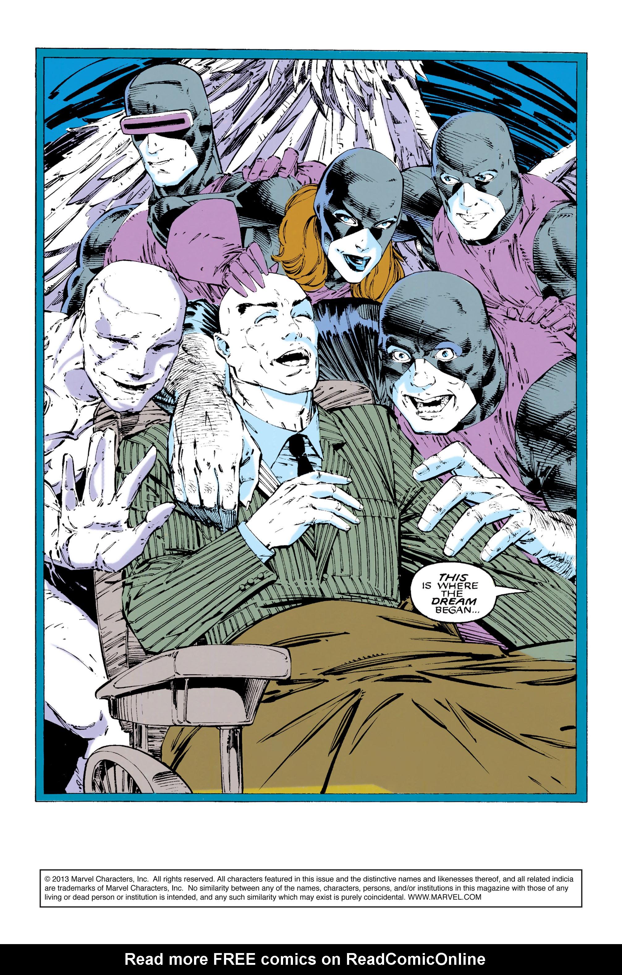 Read online Uncanny X-Men (1963) comic -  Issue #289 - 2