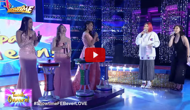 Watch It's Showtime Miss Q and A #ShowtimeFEBeverLOVE February 23, 2018