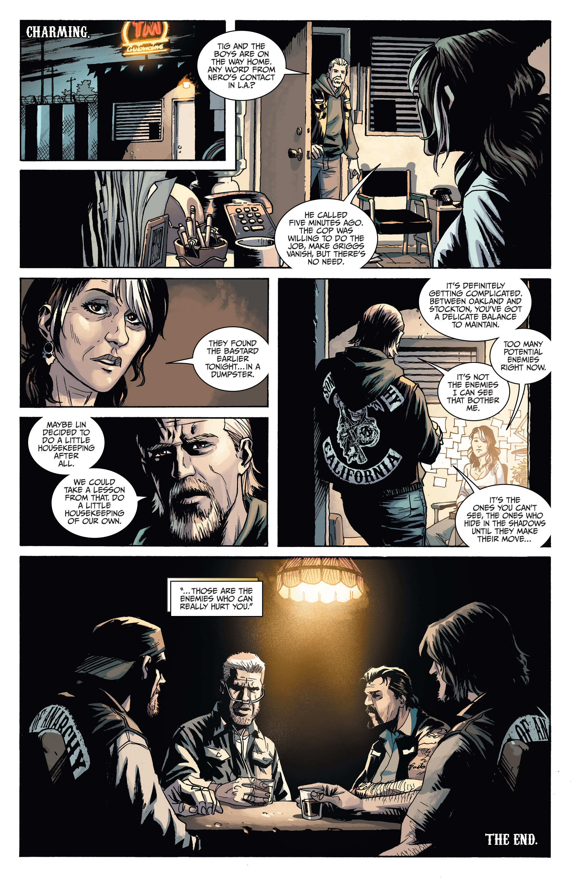 Read online Sons of Anarchy comic -  Issue #6 - 27