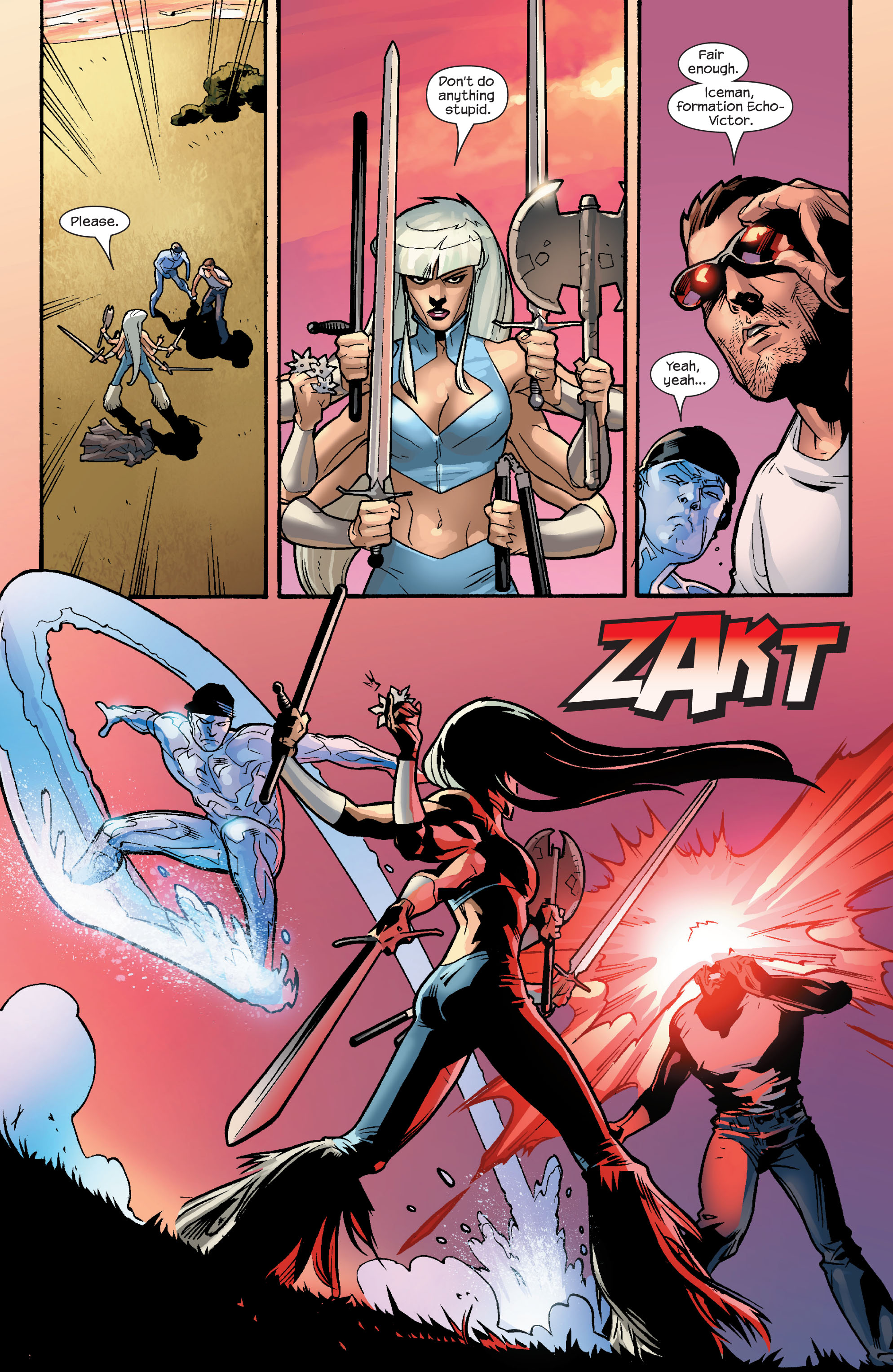Read online Ultimate X-Men comic -  Issue #56 - 10