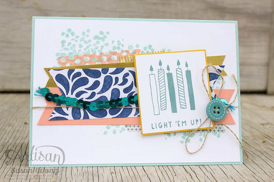 Light 'Em Up! Birthday Card ~ Susan Wong