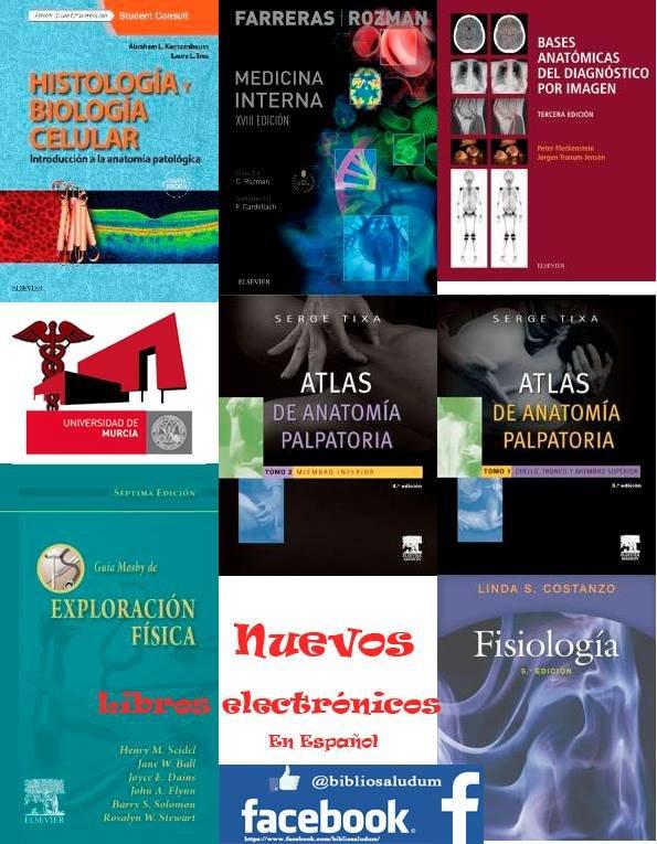 Libros electrónicos de Ciencias de la Salud de Elsevier en español.