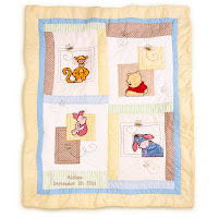 #DisneyWishList Winnie the Pooh Heirloom Quilt