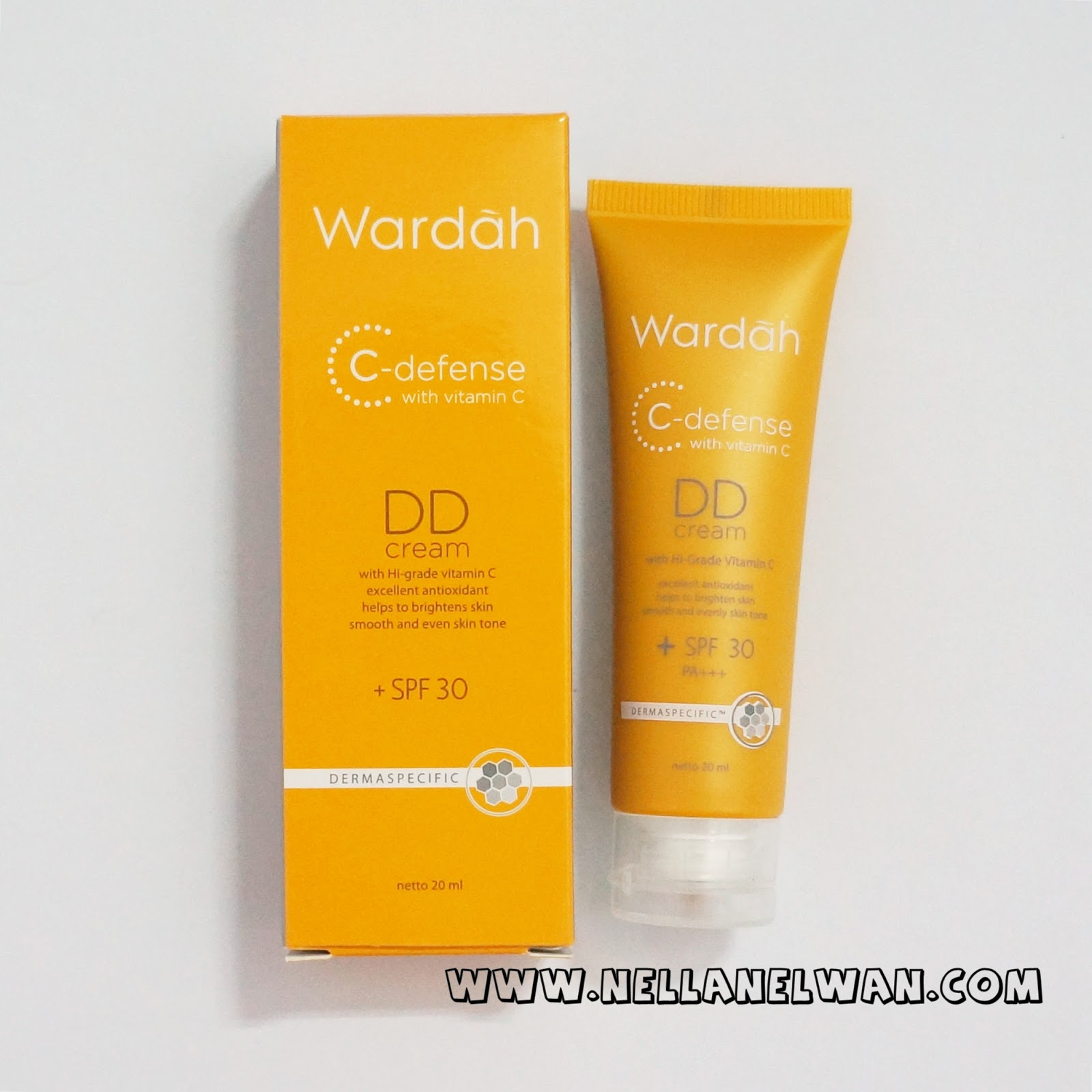 wardah c defense dd cream review nellanelwan