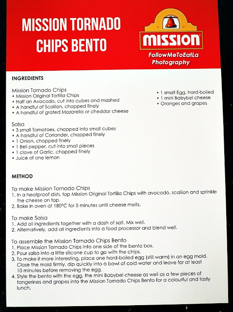 An Easy To Follow Step-By-Step Recipe  Mission Tornado Chips Bento