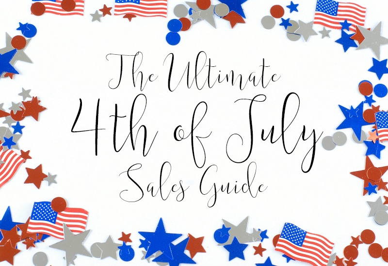 The Ultimate 4th of July Summer Sales Guide - Over 75 of the Biggest & Best Sales by popular blogger Laura of Walking in Memphis in High Heels