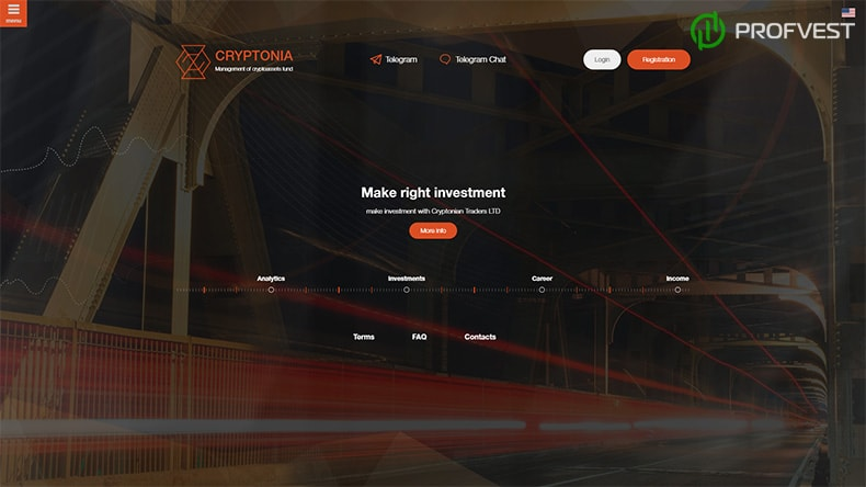 Cryptonia обзор и отзывы HYIP-проекта