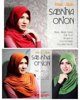 Jilbab Basic SABRINA ORION