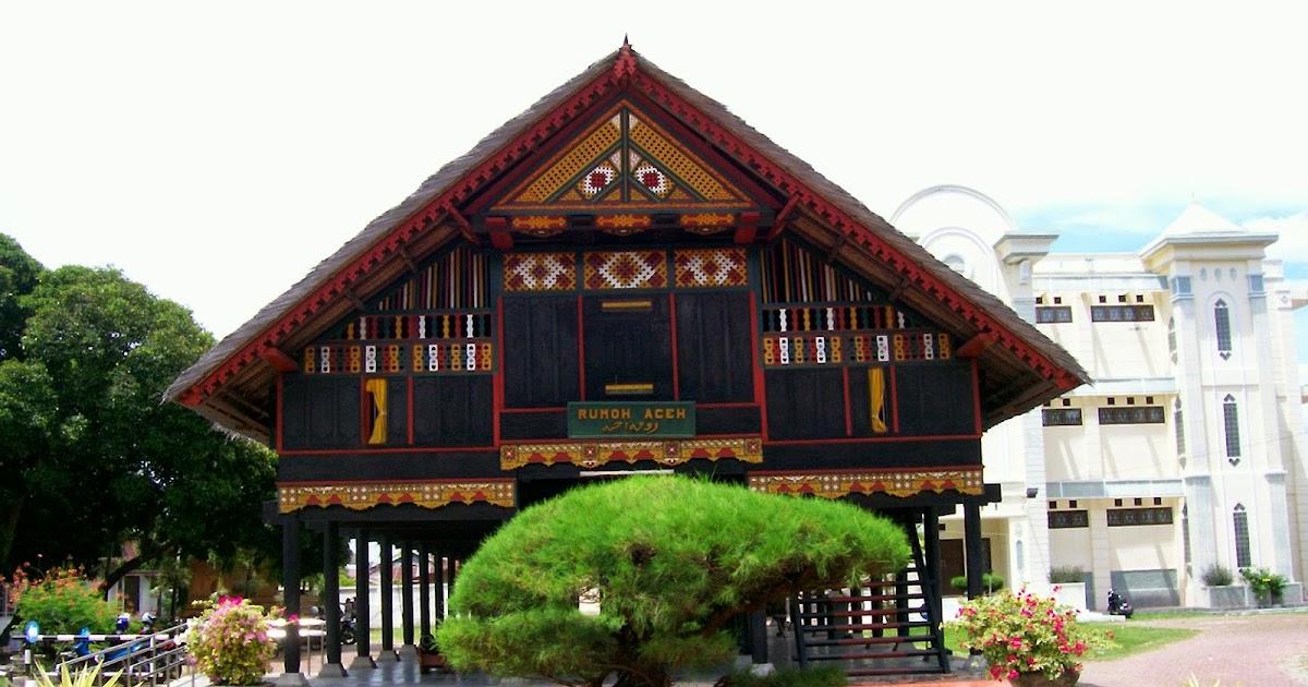 Rumah Adat Aceh Deqwan1 Blog Amatcardco