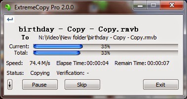 Download Software ExtreamCopy 2.3.4 Full Serial Number