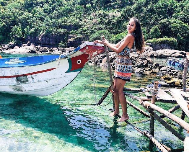Swiss Supermodel seduces side the beach in Phu Quoc, Vietnam 7