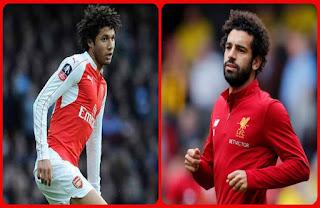 مباراة ليفربول وأرسنال اليوم 27-8-2017 , محمد صلاح ضد النني Liverpool vs Arsenal