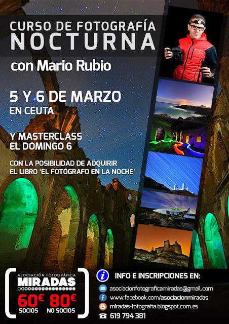Curso de Fotografía Nocturna con Mario Rubio