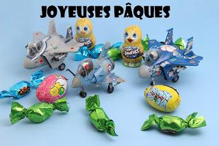 Eggplane et Pâques