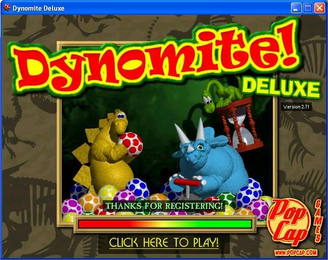 Download Dynomite Deluxe Full, bắn trứng khủng long Full keygen Crack