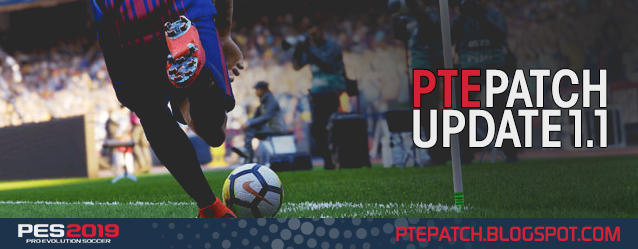 PES 2019 PTE Patch 1.1