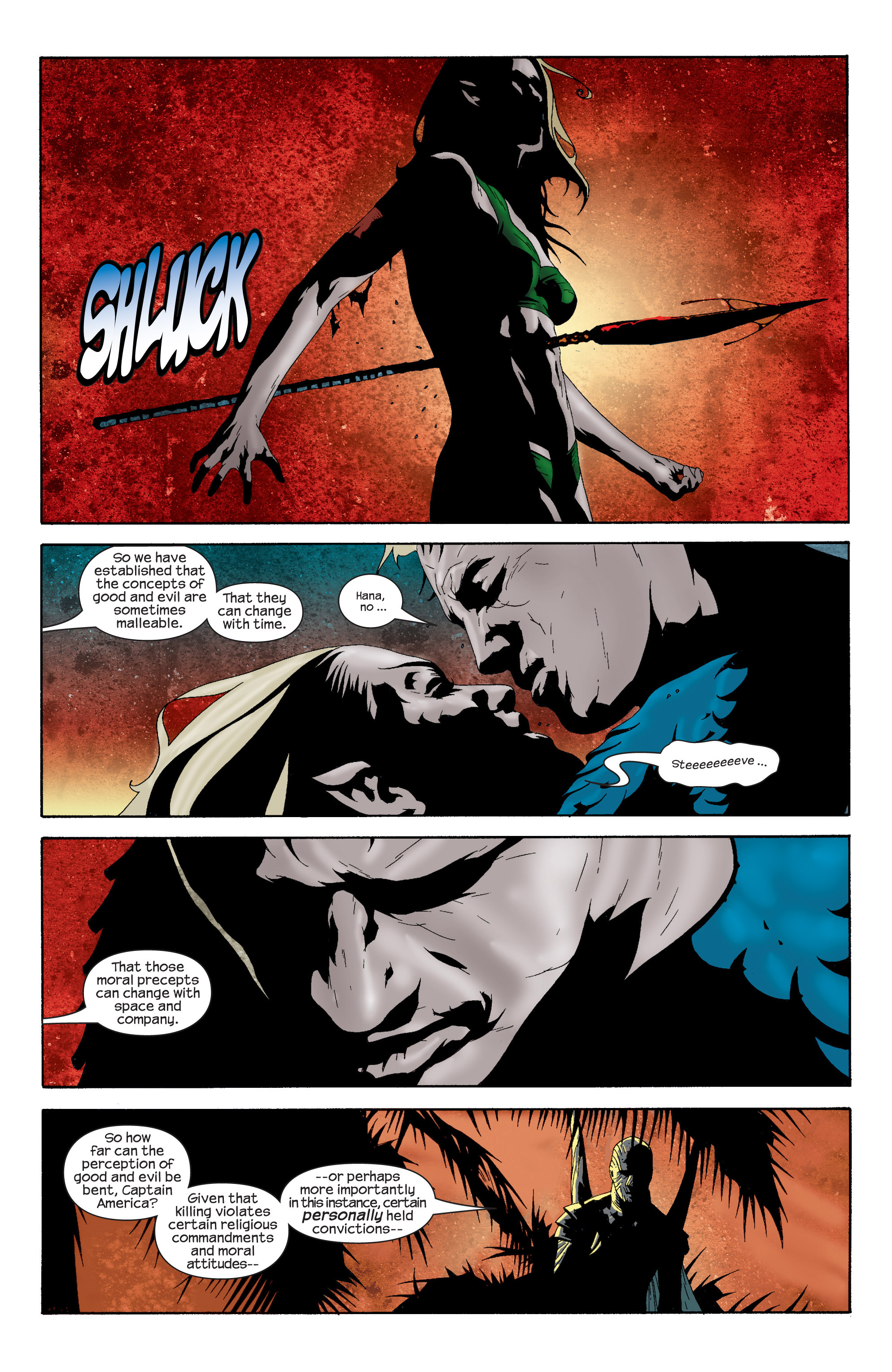 Captain America (2002) Issue #15 #16 - English 22