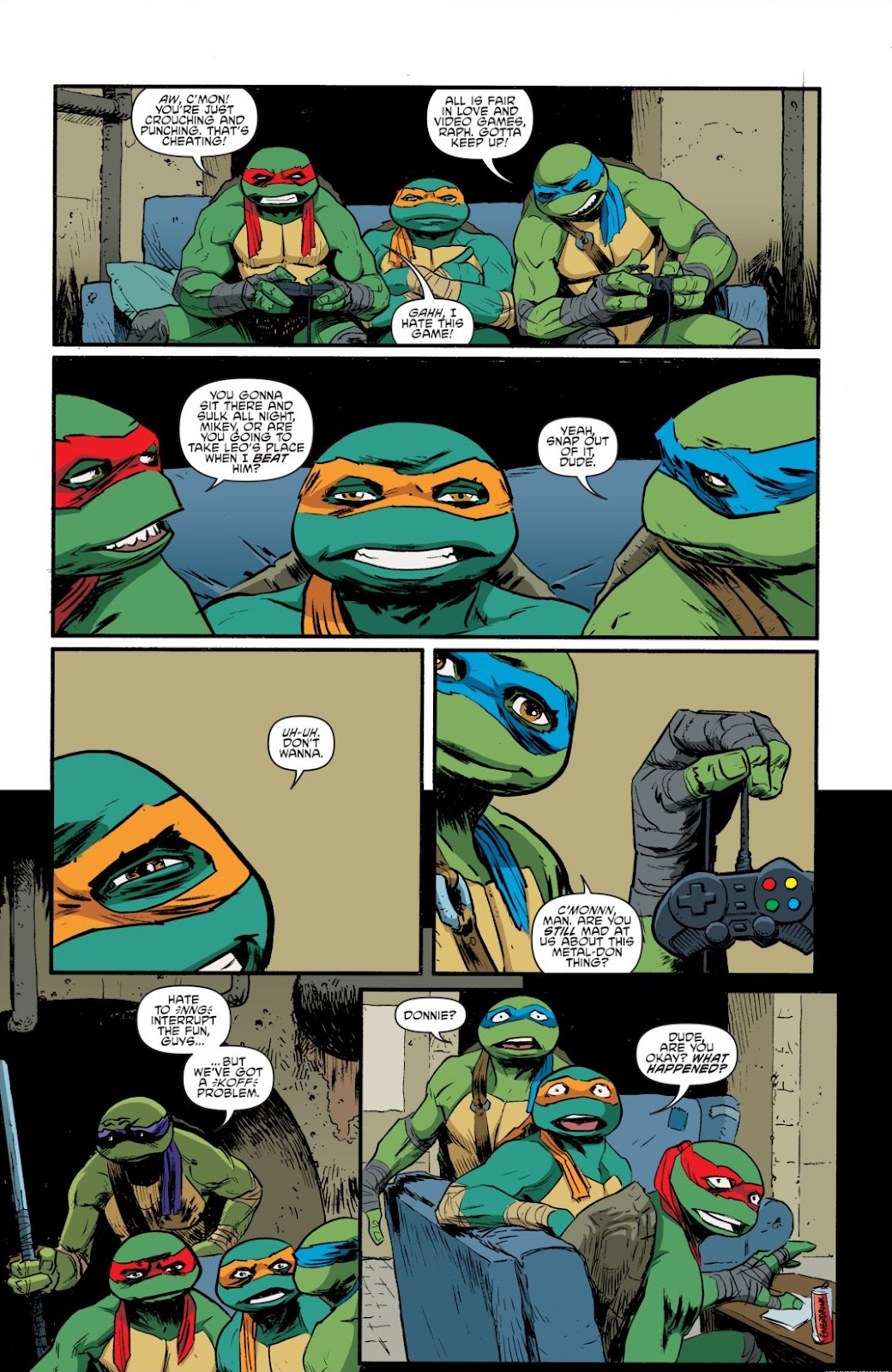 Read online Teenage Mutant Ninja Turtles: The IDW Collection comic -  Issue # TPB 8 (Part 4) - 64