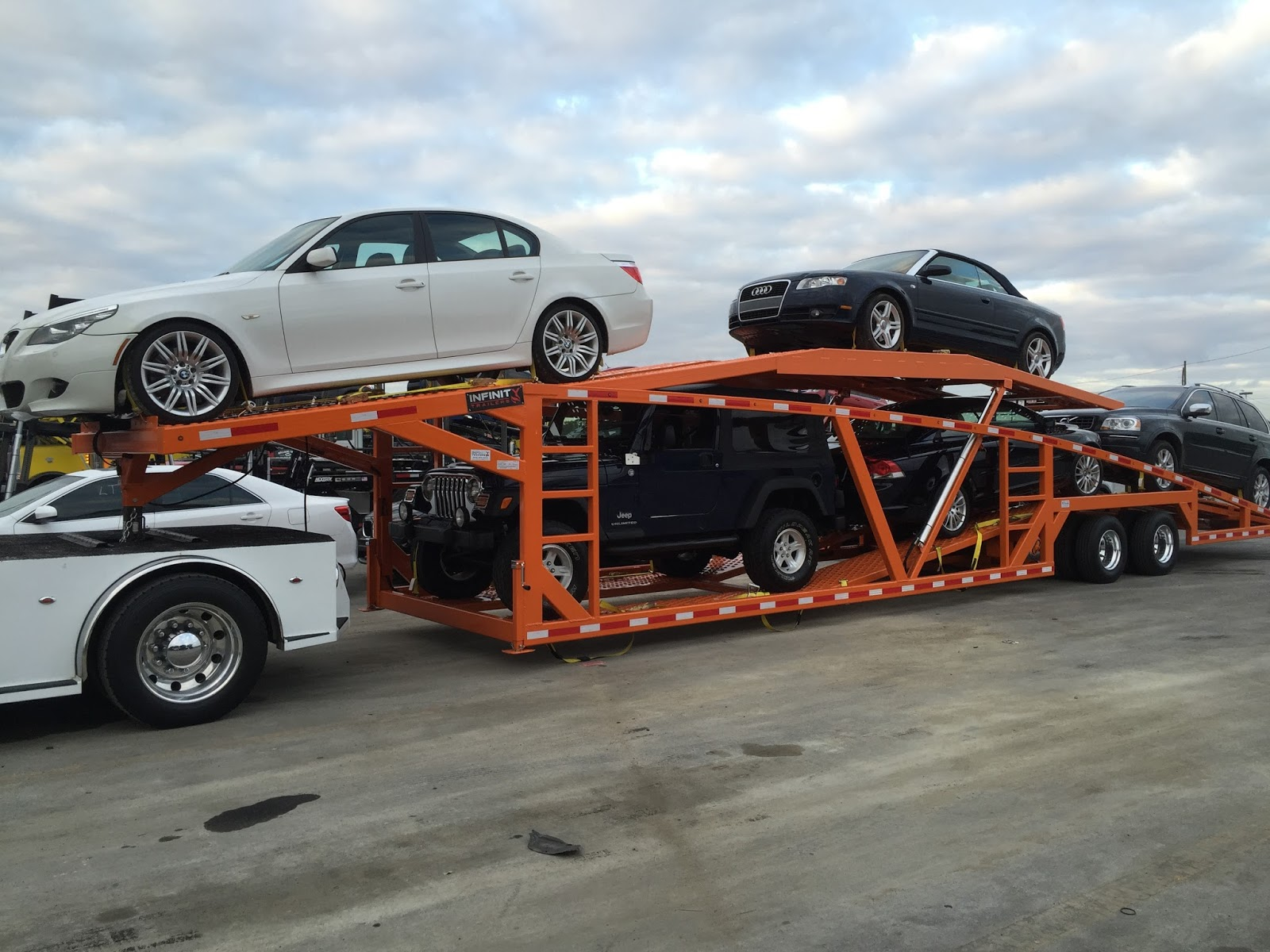 Used Five Car Hauler For Sale