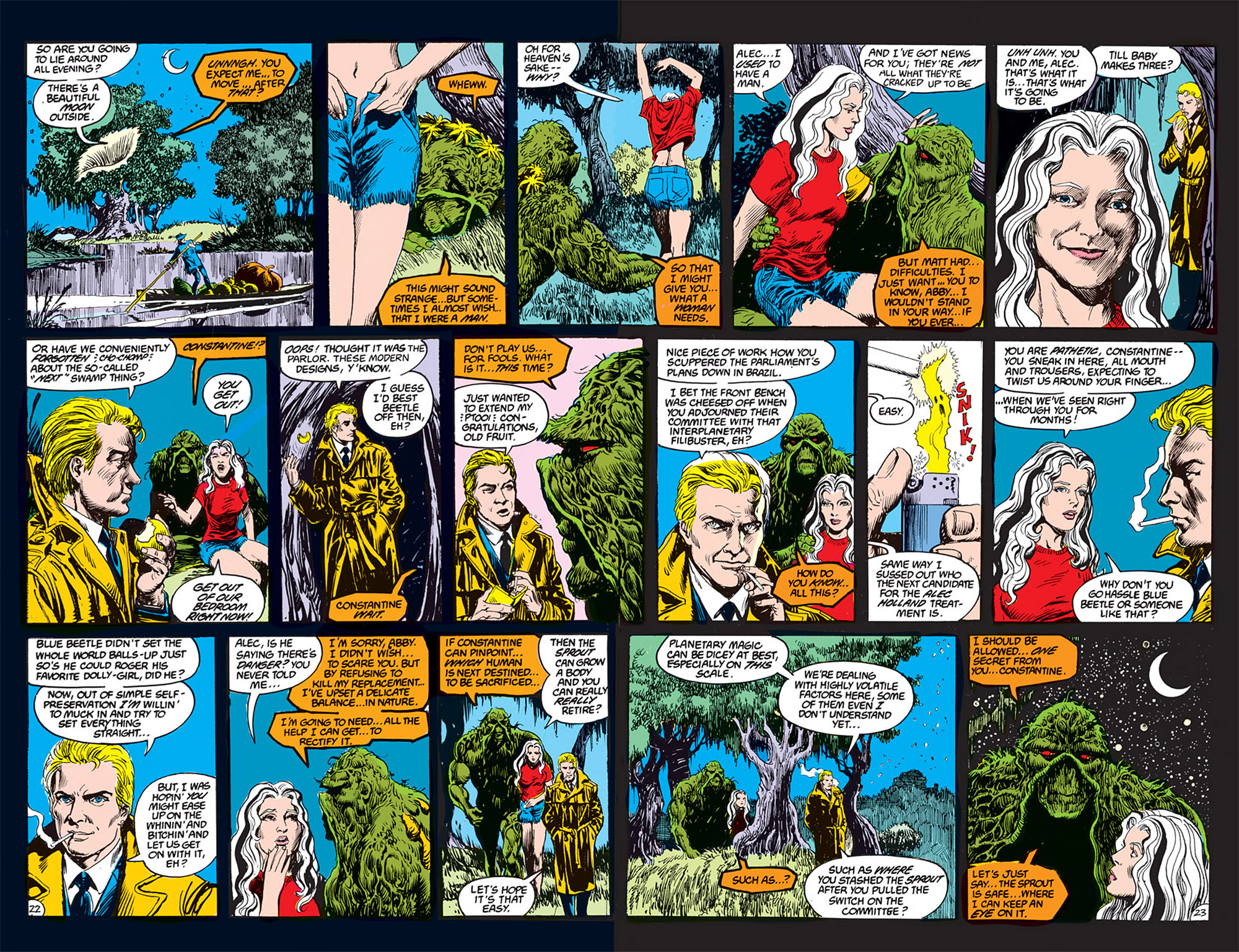 Swamp Thing (1982) Issue #70 #78 - English 13