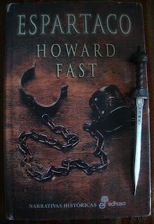 Portada del libro Espartaco, de Howard Fast